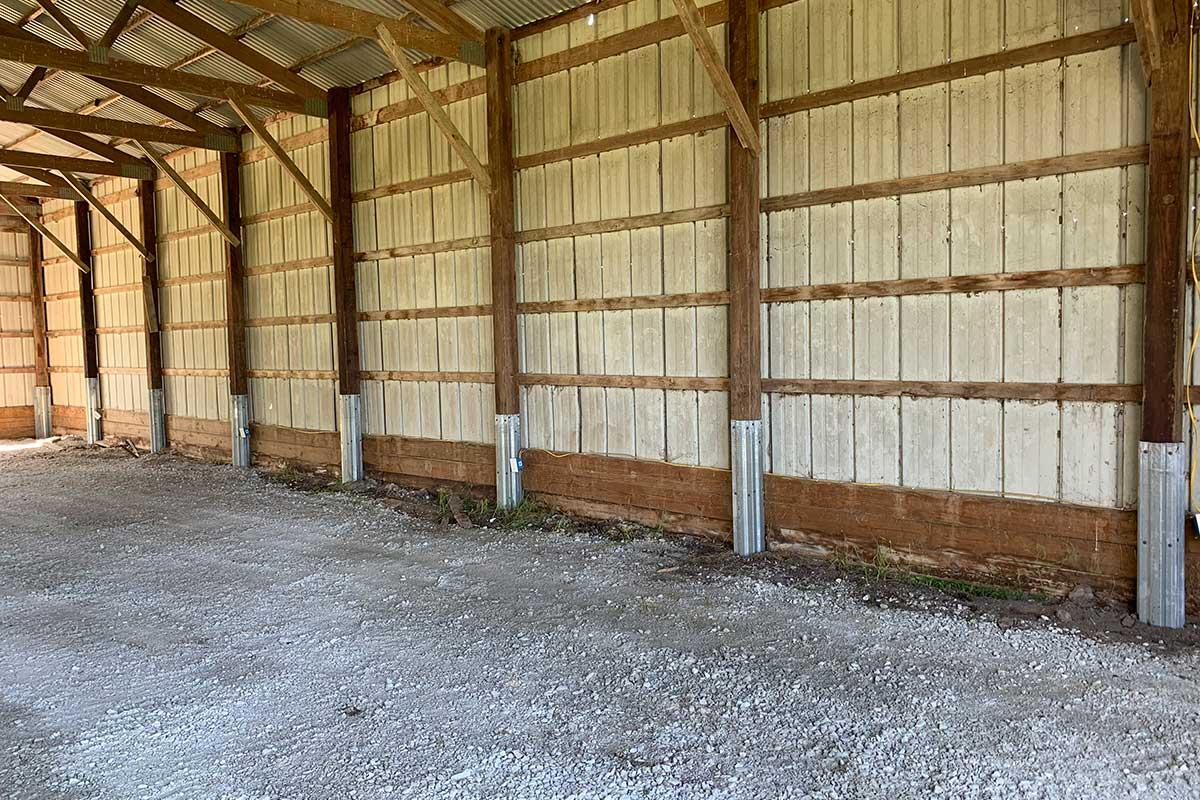 Structural Wood Beam Repair